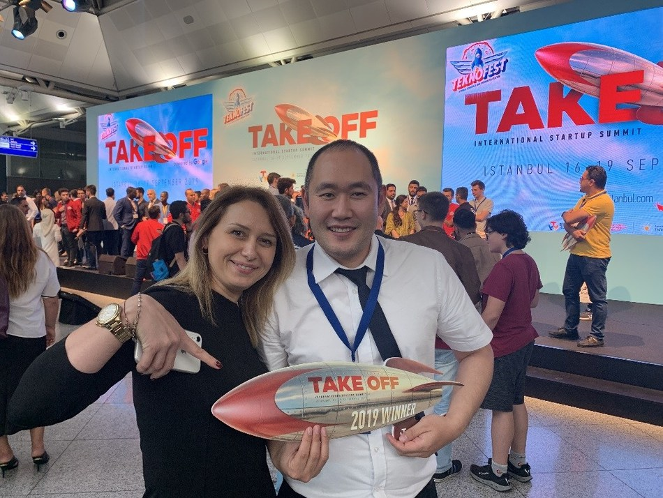Bluevisor was named as a finalist in Take Off Istanbul International Startup Summit 2019, a startup pitch contest held in Turkey.